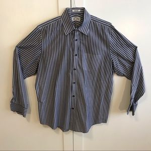 Express men's button down dress shirt